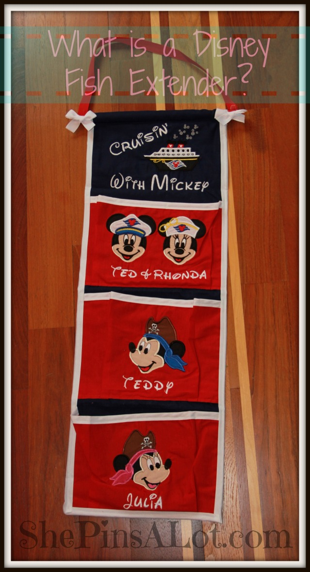 What is a disney fish extender shepinsalot for Disney cruise fish extender