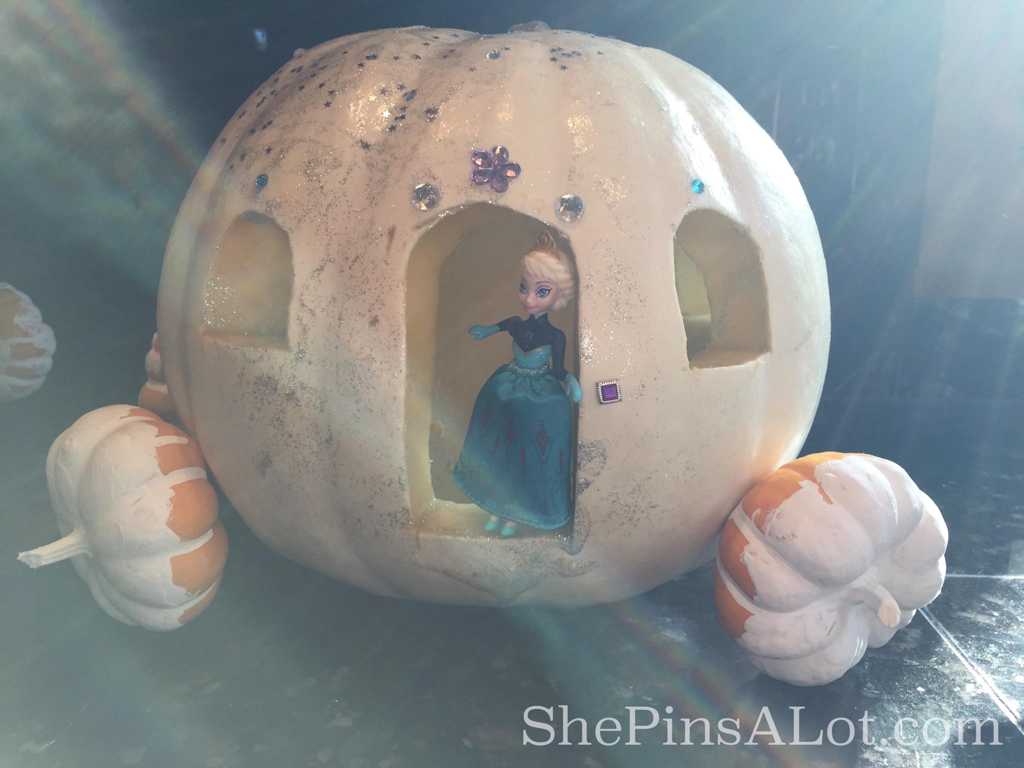 Halloween Princess Pumpkins – ShePinsALot